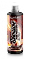 Poza Carnitine Pro Liquid IronMaxx 1000 ml strawberry