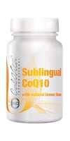 Poza Coenzima Q10 sublingual with lemon flavor