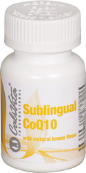 Coenzima Q10 sublingual with lemon flavor