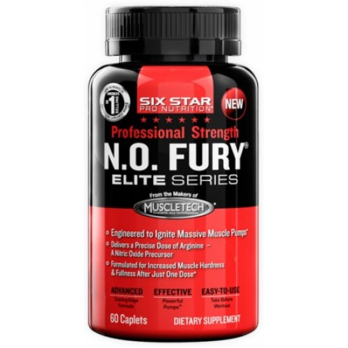 Six Star Professional Strength N.O.Fury Elite Series 60 cap